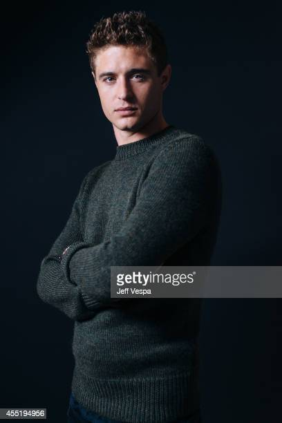 Actor Max Irons is photographed for a Portrait Session at the 2014 Toronto Film Festival on September 7 2014 in Toronto Ontario