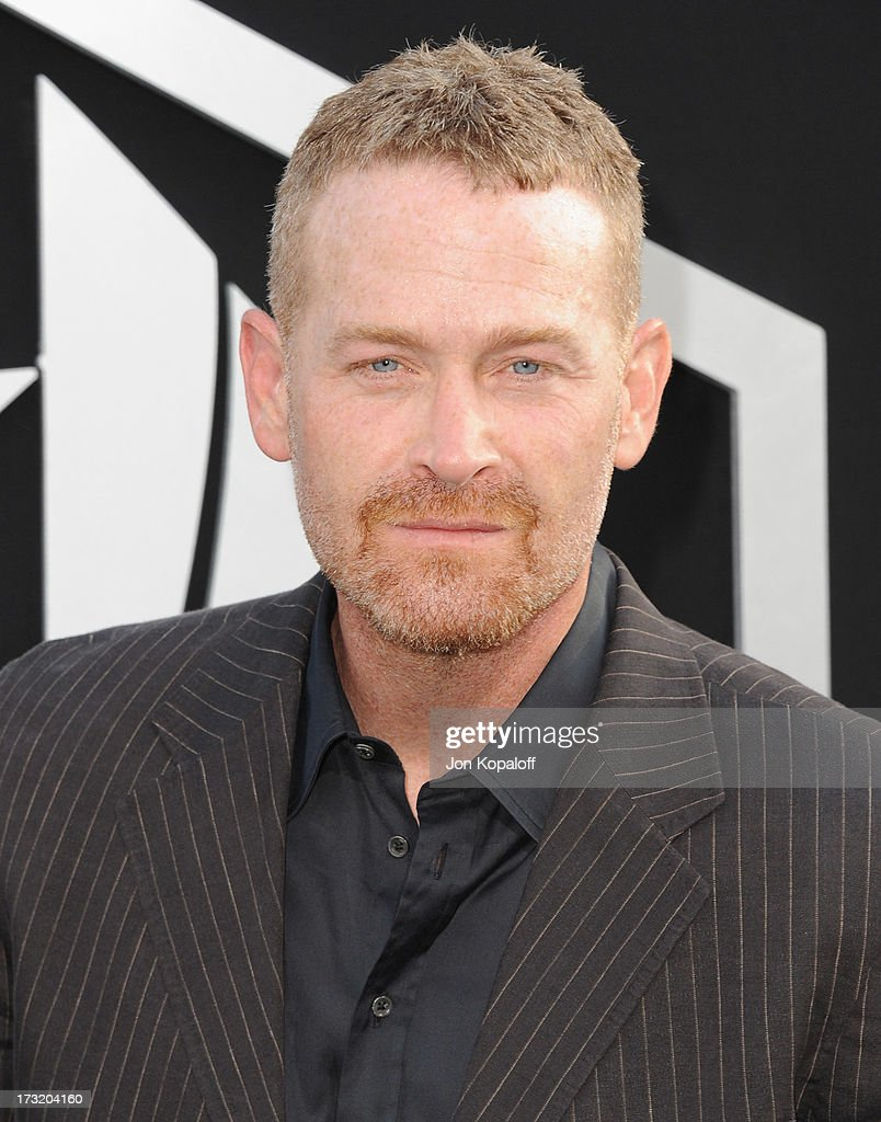 Actor Max Martini arrives at the Los Angeles Premiere 'Pacific Rim' at Dolby Theatre on July 9, 2013 in Hollywood, California.