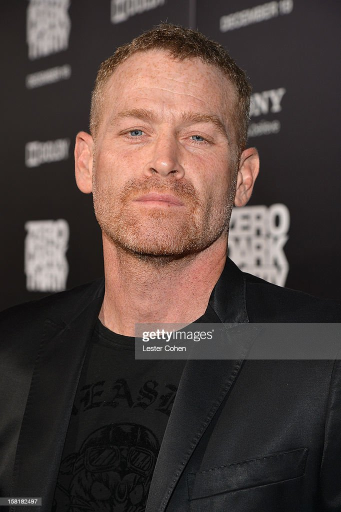 Actor Max Martini attends the 'Zero Dark Thirty' Los Angeles Premiere at Dolby Theatre on December 10, 2012 in Hollywood, California.