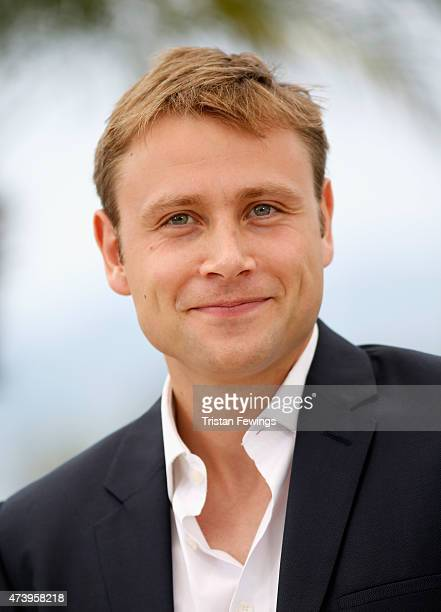 Actor Max Riemelt attends a photocall for 'Amnesia' during the 68th annual Cannes Film Festival on May 19 2015 in Cannes France