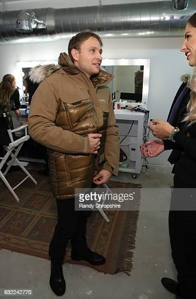 Actor Max Riemelt attends ATT At The Lift during the 2017 Sundance Film Festival on January 20 2017 in Park City Utah