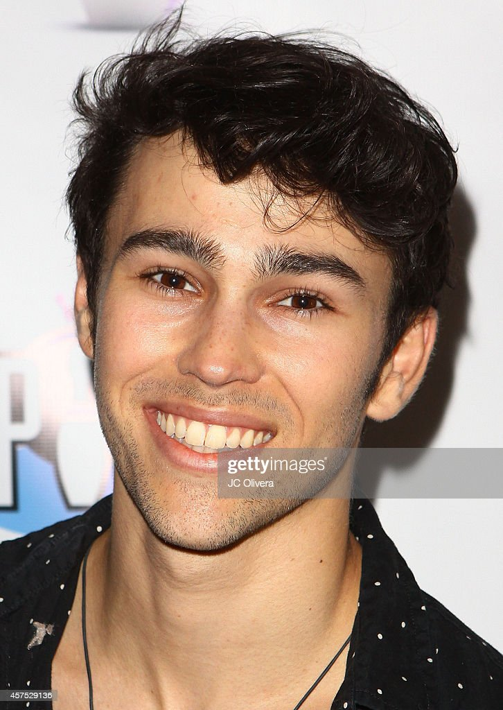 Actor Max Schneider attends Celebrity Bowling Tournament Benefiting Childhelp at PINZ Bowling Entertainment Center on October 19 2014 in Studio City...