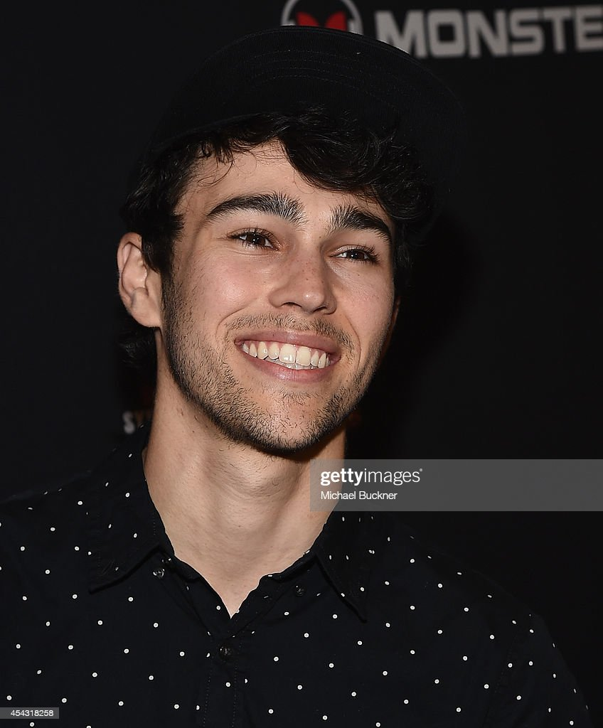 Actor Max Schneider attends Trevor Jackson's Monster 18th Birthday Party Presented by Monster at El Rey Theatre on August 28 2014 in Los Angeles...