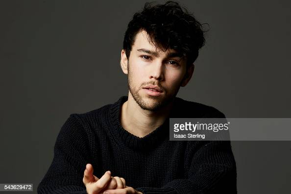 Actor Max Schneider is photographed for Zooey on November 22 2014 in Los Angeles California