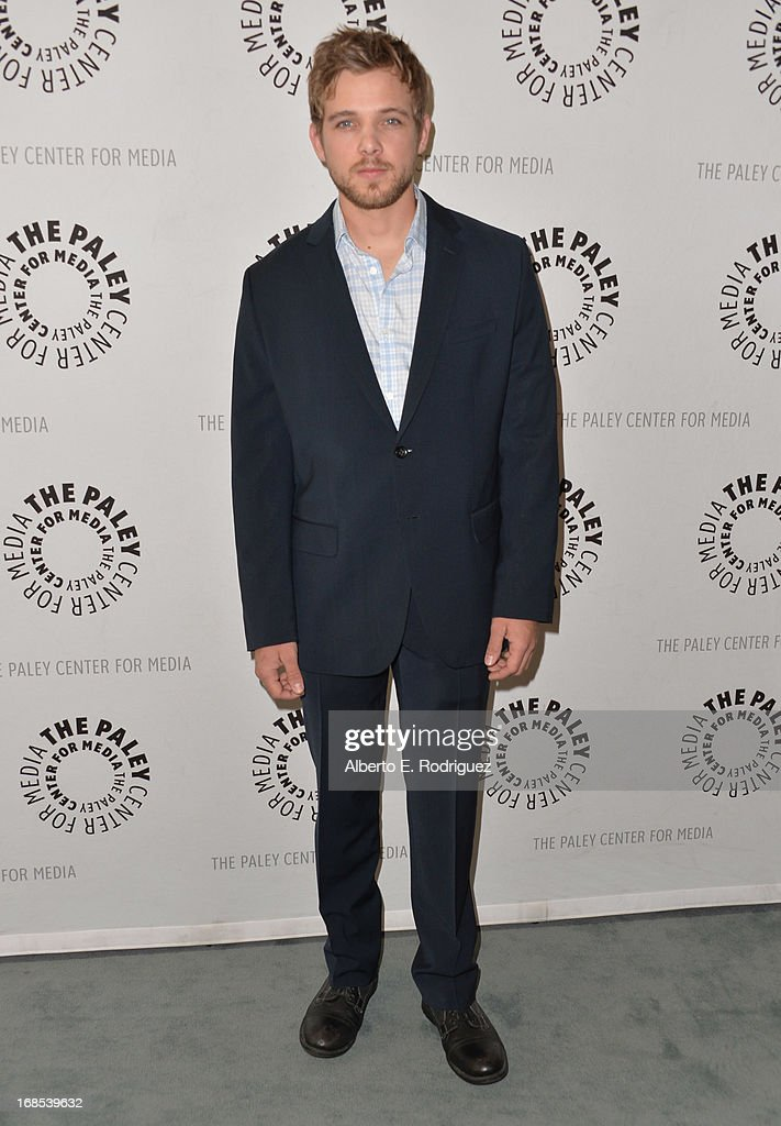 Actor Max Thieriot arrivies to The Paley Center for Media Presents 'Bates Motel: Reimagining A Cinema Icon' at The Paley Center for Media on May 10, 2013 in Beverly Hills, California.
