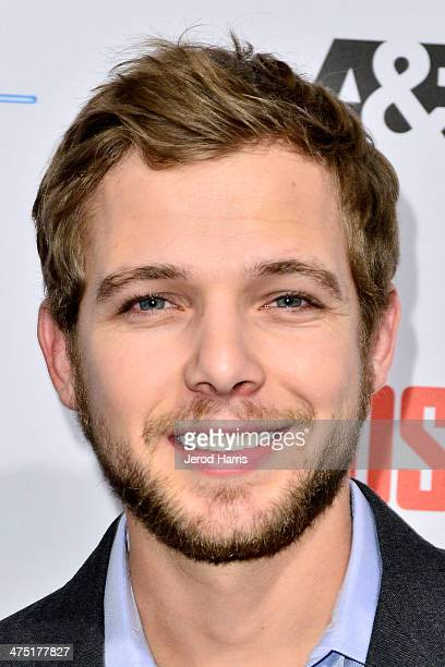 Actor Max Thieriot attends the premiere party for AE's Season 2 Of 'Bates Motel' series premiere of 'Those Who Kill' at Warwick on February 26 2014...