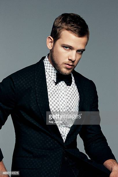 Actor Max Thieriot is photographed for Flaunt Magazine on January 1 2012 in Los Angeles California PUBLISHED IMAGE