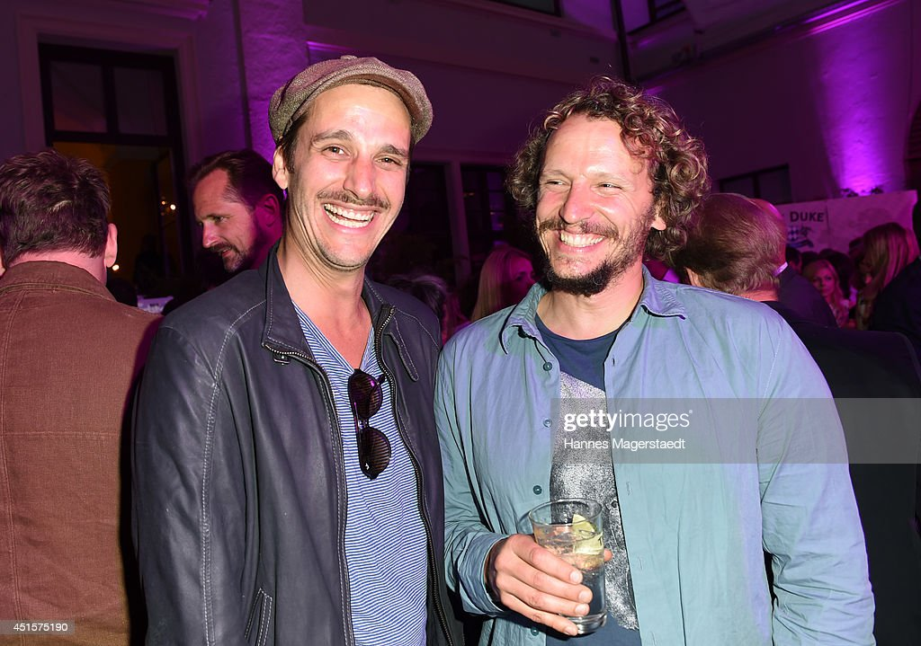 Actor Max von Thun and Marcus H. Rosenmueller attend the Bavaria Reception during the Munich Film Festival 2014 on July 1, 2014 in Munich, Germany.