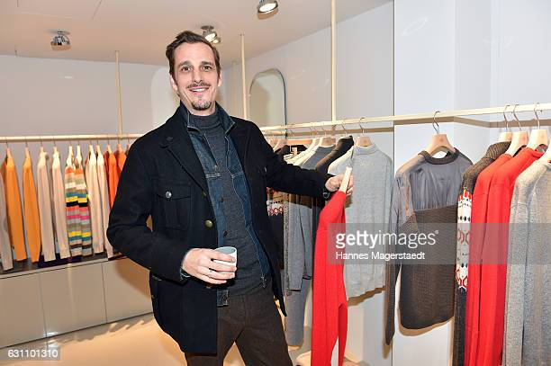Actor Max von Thun during the Allude store opening on January 6 2017 in Kitzbuehel Austria