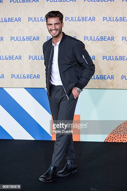 Actor Maxi Iglesias attends the opening of the new PullBear ecofriendly headquarters on September 22 2016 in Naron Spain
