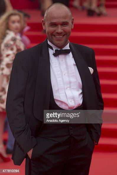 Actor Maxim Averin is seen during at the opening ceremony of the 37th Moscow International Film Festival in Moscow Russia on June 2015
