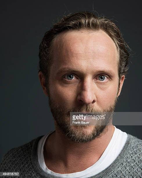 Actor Maximilian Bruckner is photographed for Suddeutsche Zeitung on September 10 2015 in Munich Germany