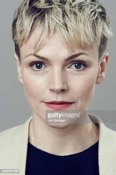Actor Maxine Peake is photographed for the Telegraph on February 20 2015 in London England