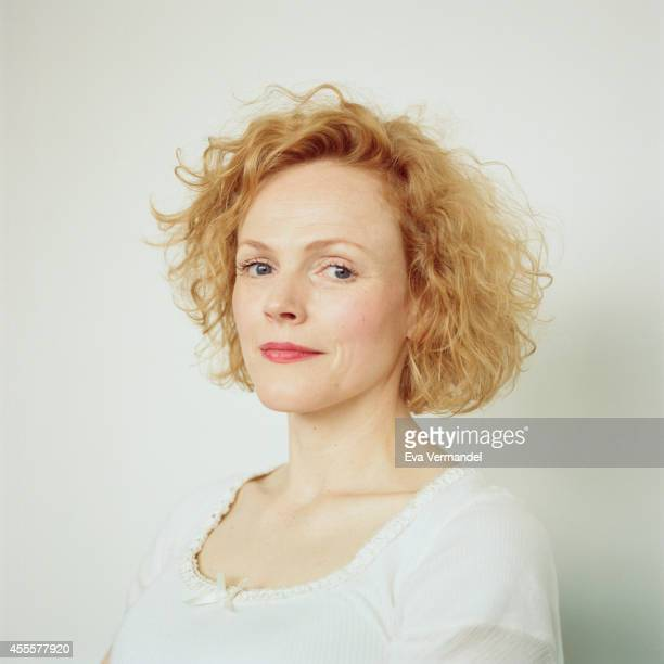 Actor Maxine Peake is photographed for the Telegraph on June 3 2014 in London England