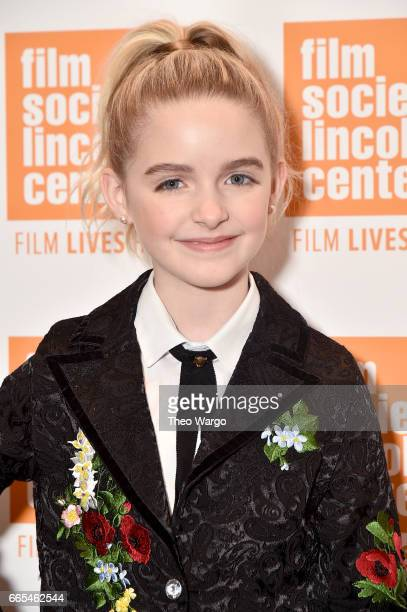 Actor McKenna Grace attends the 'Gifted' New York Premiere at New York Institute of Technology on April 6 2017 in New York City