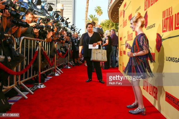 Actor Mckenna Grace attends the premiere of 'How To Be A Latin Lover' on April 26 2017 in Los Angeles California