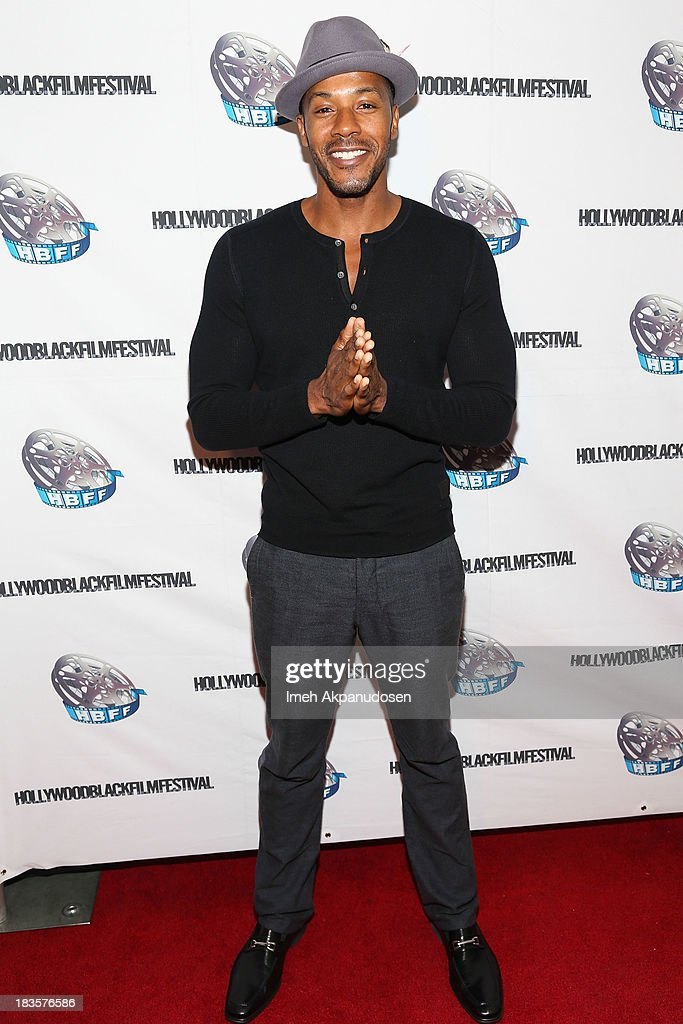 Actor McKinley Freeman attends the closing night for the Hollywood Black Film Festival (HBFF) at The Ricardo Montalban Theatre on October 6, 2013 in Hollywood, California.