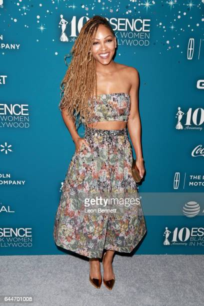 Actor Meagan Good at Essence Black Women in Hollywood Awards at the Beverly Wilshire Four Seasons Hotel on February 23 2017 in Beverly Hills...