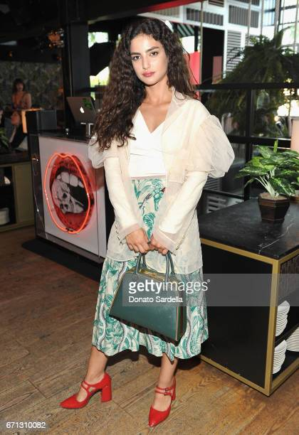 Actor Medalion Rahimi attends Marie Claire's 'Fresh Faces' celebration with an event sponsored by Maybelline at Doheny Room on April 21 2017 in West...