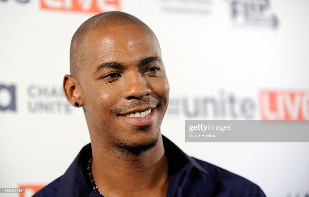 Actor <a gi-track='captionPersonalityLinkClicked' href=/galleries/search?phrase=Mehcad+Brooks&family=editorial&specificpeople=817717 ng-click='$event.stopPropagation()'>Mehcad Brooks</a> arrives at the 'UniteLIVE: The Concert to Rock Out Bullying' at the Thomas & Mack Center on October 3, 2013 in Las Vegas, Nevada.