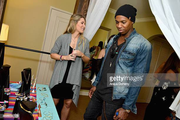 Actor Mehcad Brooks attends Kari Feinstein's Music Festival Style Lounge at Sunset Marquis Hotel Villas on April 7 2015 in West Hollywood California