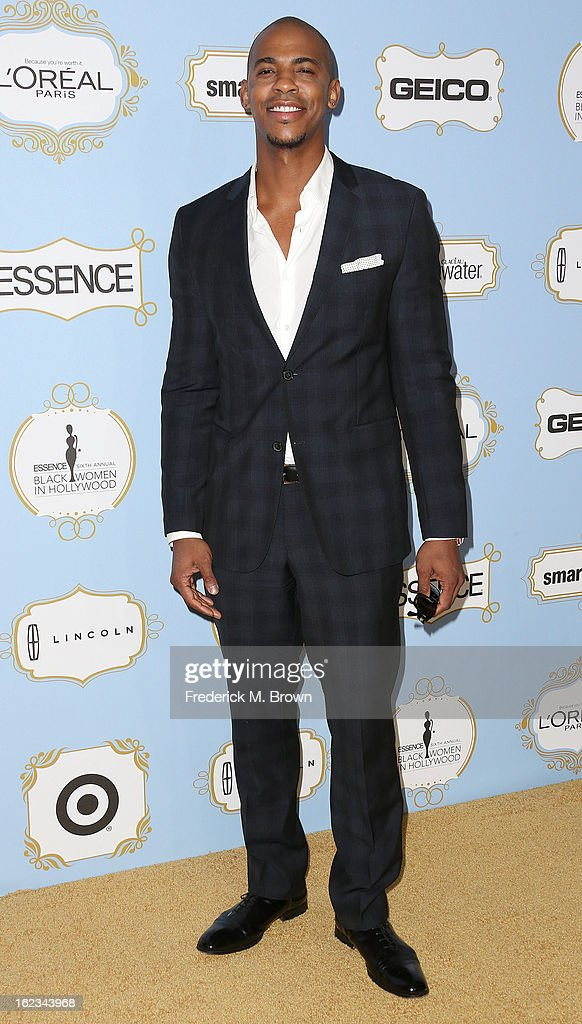 Actor <a gi-track='captionPersonalityLinkClicked' href=/galleries/search?phrase=Mehcad+Brooks&family=editorial&specificpeople=817717 ng-click='$event.stopPropagation()'>Mehcad Brooks</a> attends the Sixth Annual ESSENCE Black Women In Hollywood Awards Luncheon at the Beverly Hills Hotel on February 21, 2013 in Beverly Hills, California.