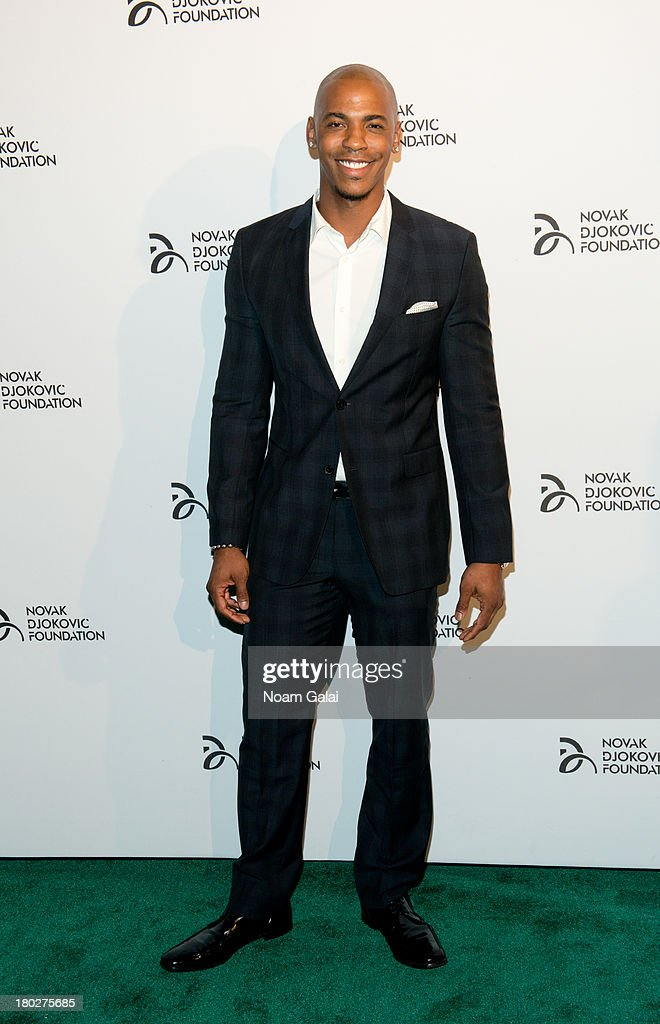 Actor Mehcad Brooks attends the The 2013 Novak Djokovic Foundation Dinner at Capitale on September 10, 2013 in New York City.