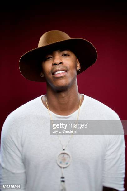 Actor Mehcad Brooks from the television series 'Supergirl' is photographed in the LA Times photo studio at ComicCon 2017 in San Diego CA on July 22...