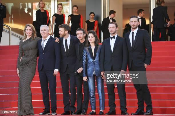 Actor Mehdi RahimSilvioli ActUp cofounder Didier Lestrade actor JeanFrancois Auguste actress Adele Haenel actor Ariel Borenstein director Robin...