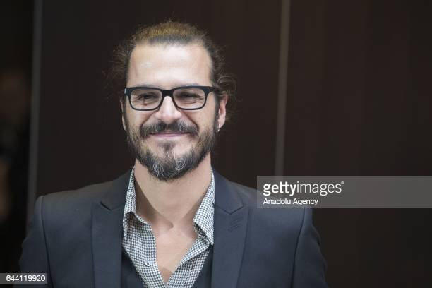 Actor Mehmet Gunsur attends the photocall of the movie 'Rosso Istanbul' at the NH Collection Hotel in Rome Italy on February 23 2017