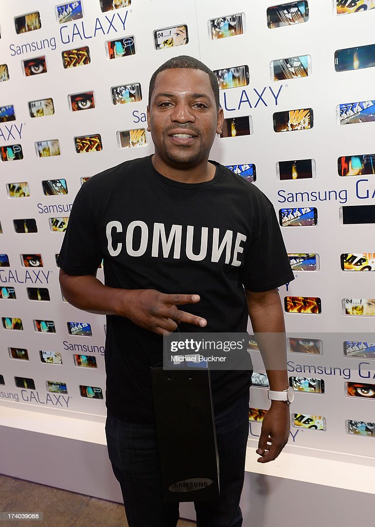 Actor <a gi-track='captionPersonalityLinkClicked' href=/galleries/search?phrase=Mekhi+Phifer&family=editorial&specificpeople=213382 ng-click='$event.stopPropagation()'>Mekhi Phifer</a> attends Day 2 of The Samsung Galaxy Experience on July 19, 2013 in San Diego, California.