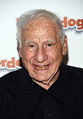 Actor Mel Brooks arrives at a screening of The Weinstein Company's 'Underdogs' at the Pacific Theatres at The Grove on July 18 2016 in Los Angeles...