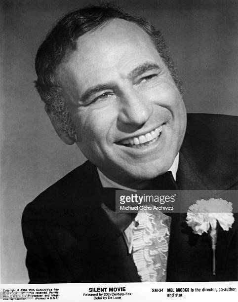 Actor Mel Brooks poses for a portrait to publicize the release of his movie 'Silent Movie' which was released in 1976