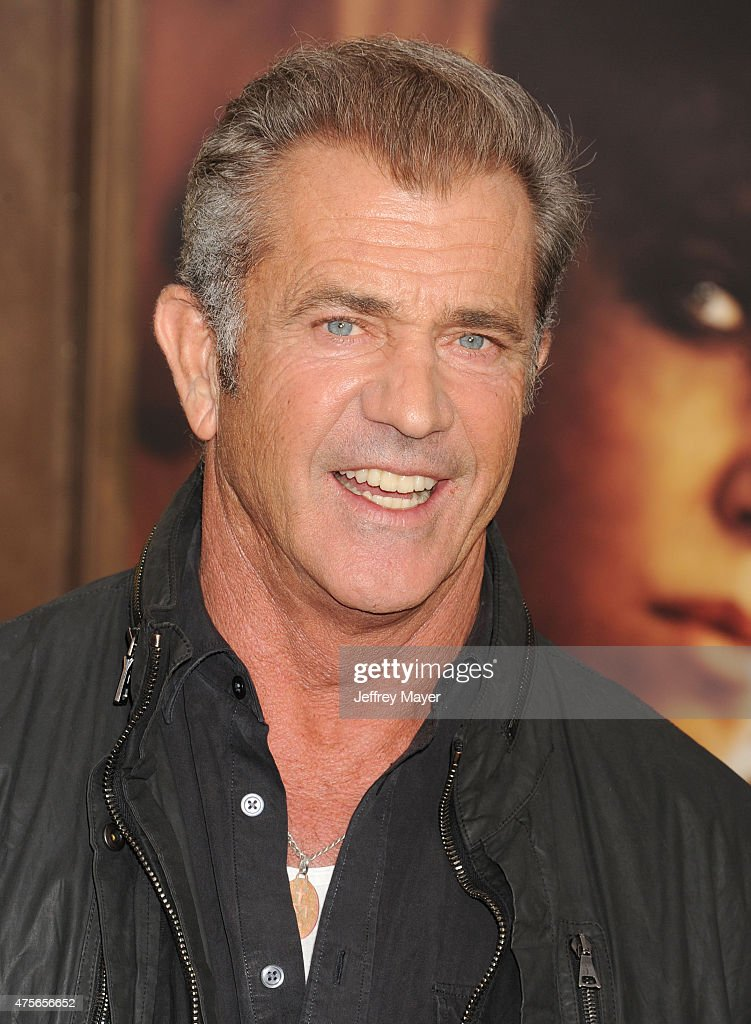 Actor Mel Gibson arrives at the 'Mad Max Fury Road' Los Angeles Premiere at TCL Chinese Theatre IMAX on May 7 2015 in Hollywood California