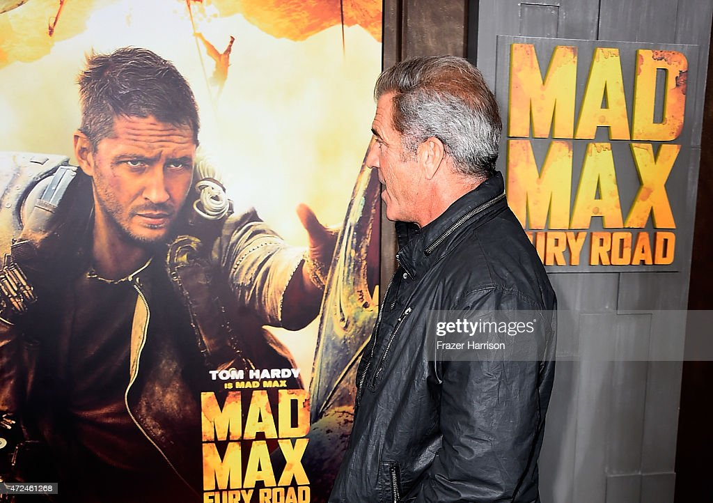 Actor Mel Gibson arrives at the Premiere Of Warner Bros Pictures' 'Mad Max Fury Road' at TCL Chinese Theatre on May 7 2015 in Hollywood California