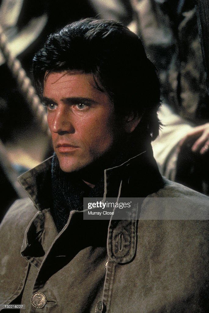 Actor Mel Gibson as mutineer Fletcher Christian in the film 'The Bounty' 1984