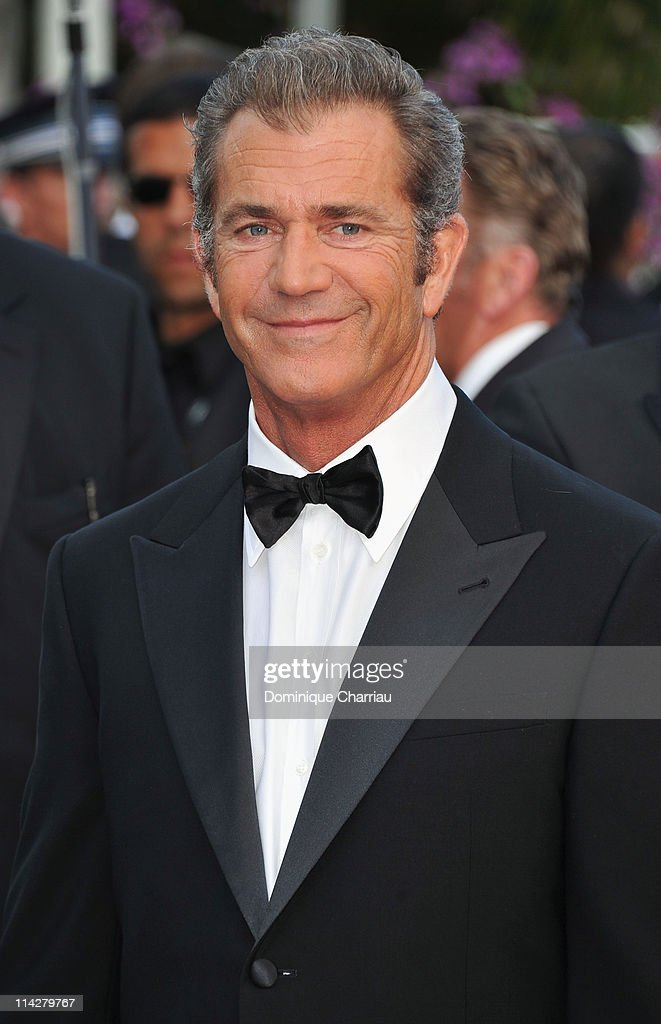 Actor Mel Gibson attend 'The Beaver' Premiere during the 64th Cannes Film Festival at the Palais des Festivals on May 17 2011 in Cannes France