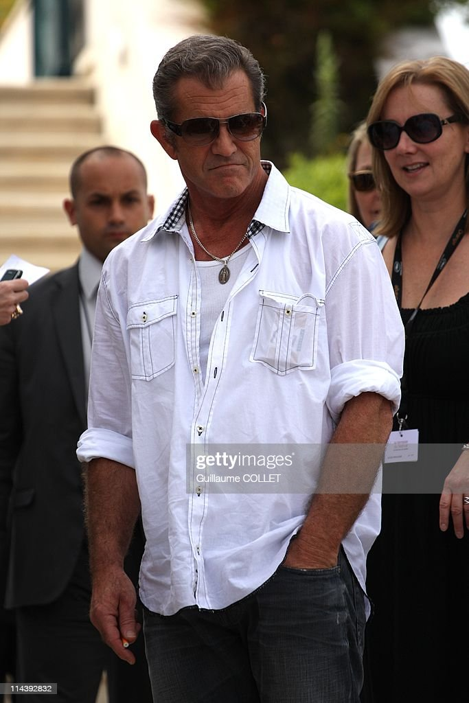 Actor Mel Gibson attends a photocall for the film ''The Beaver'' during the festival of Cannes, 2011 on May 18 in Cannes, France.