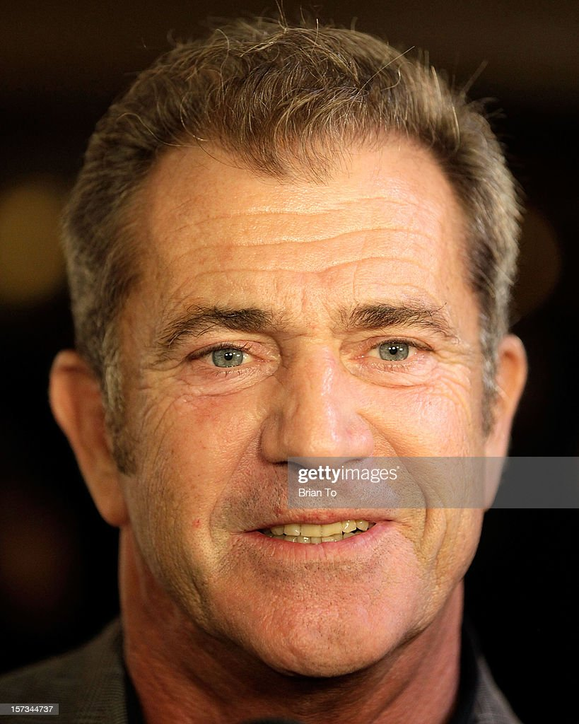Actor <a gi-track='captionPersonalityLinkClicked' href=/galleries/search?phrase=Mel+Gibson&family=editorial&specificpeople=201512 ng-click='$event.stopPropagation()'>Mel Gibson</a> attends Mending Kids International celebrity poker tournament at The London Hotel on December 1, 2012 in West Hollywood, California.