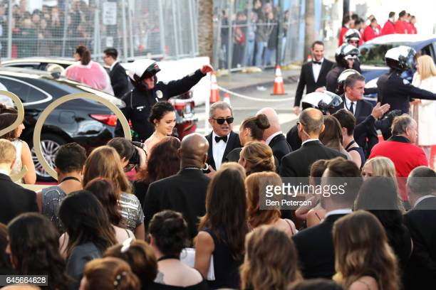 Actor Mel Gibson attends the 89th Annual Academy Awards at Hollywood Highland Center on February 26 2017 in Hollywood California
