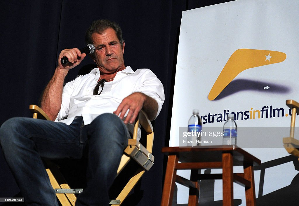 Actor Mel Gibson attends the Australians In Film screening of 'The Beaver' at the Harmony Gold Theate on June 1, 2011 in Los Angeles, California.