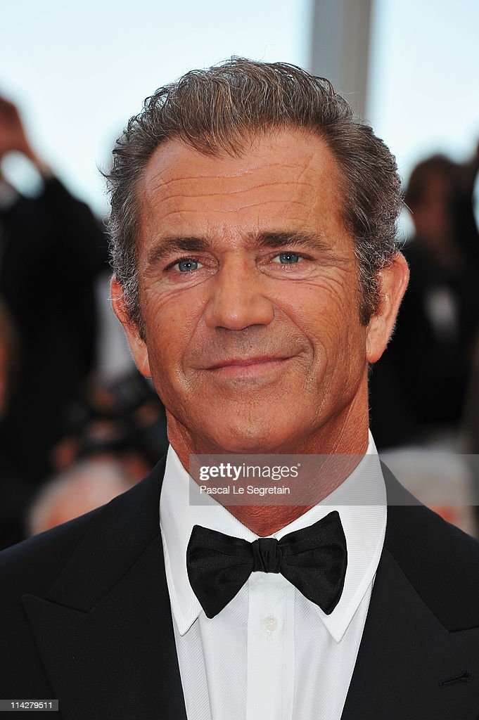 Actor Mel Gibson attends 'The Beaver' premiere at the Palais des Festivals during the 64th Cannes Film Festival on May 17 2011 in Cannes France