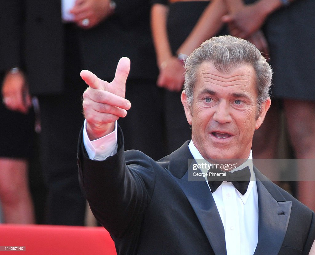 Actor Mel Gibson attends 'The Beaver' Premiere during the 64th Cannes Film Festival at the Palais des Festivals on May 17 2011 in Cannes France