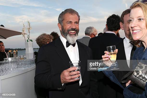 Actor Mel Gibson attends The Expendables 3 Official Cast Dinner Party at Gotha Club on May 18 2014 in Cannes France