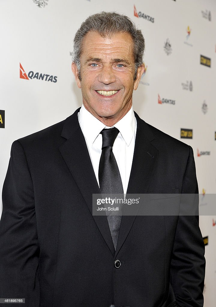 Actor <a gi-track='captionPersonalityLinkClicked' href=/galleries/search?phrase=Mel+Gibson&family=editorial&specificpeople=201512 ng-click='$event.stopPropagation()'>Mel Gibson</a> attends the G'Day USA Los Angeles Black Tie Gala at JW Marriott Hotel at L.A. LIVE on January 11, 2014 in Los Angeles, California.