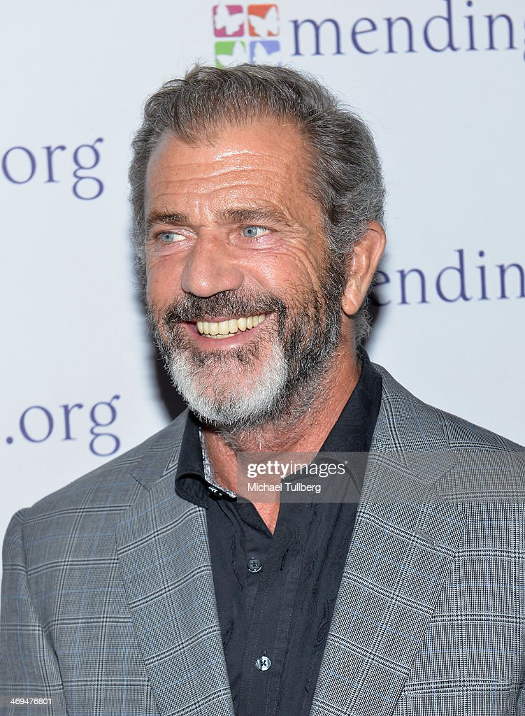 Actor <a gi-track='captionPersonalityLinkClicked' href=/galleries/search?phrase=Mel+Gibson&family=editorial&specificpeople=201512 ng-click='$event.stopPropagation()'>Mel Gibson</a> attends the Mending Kids International's 'Rock & Roll All-Stars' Fundraising Event on February 14, 2014 in Hollywood, California.