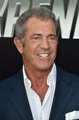 Actor Mel Gibson attends the premiere of Lionsgate Films' 'The Expendables 3' at TCL Chinese Theatre on August 11 2014 in Hollywood California