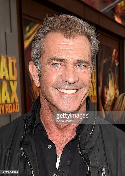 Actor Mel Gibson attends the premiere of Warner Bros Pictures' 'Mad Max Fury Road' at TCL Chinese Theatre on May 7 2015 in Hollywood California