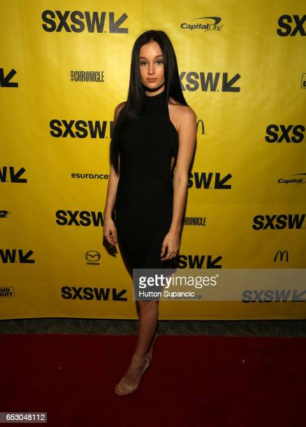 Actor Melanie Britton attends the premiere of 'MFA' during 2017 SXSW Conference and Festivals at Stateside Theater on March 13 2017 in Austin Texas