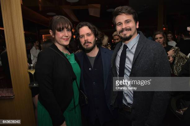 Actor Melanie Lynskey director Edgar Wright and actor Jason Ritter attend Vanity Fair and L'Oreal Paris Toast to Young Hollywood hosted by Dakota...